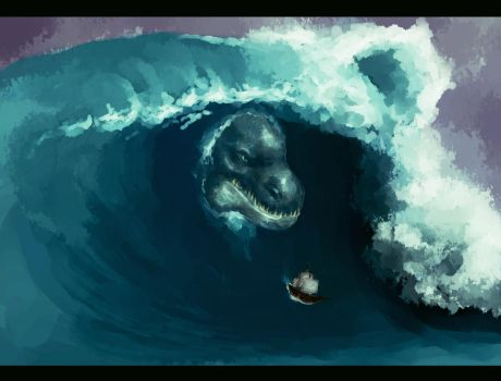Rogue Wave by kratos6619