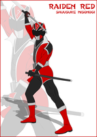 (Fan Art) Shinobi Sentai Raidenger by CarnivalRanger