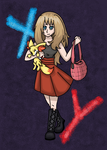 Pokemon X and Y Serena by fennecthefox15