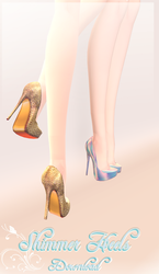 Shimmer Heels - MMD Download by Shiremide1