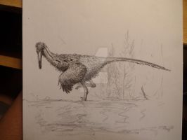 Buitreraptor by Lucas-Attwell