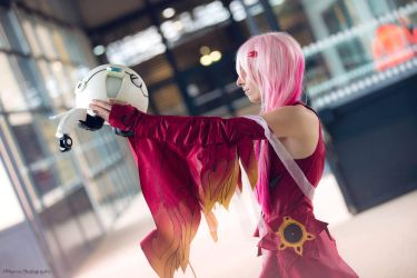 Inori cosplay - Guilty Crown 02 by Chimeral-CosplayArt