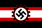 Alternate Flag of Nazi Germany by GeneralHelghast