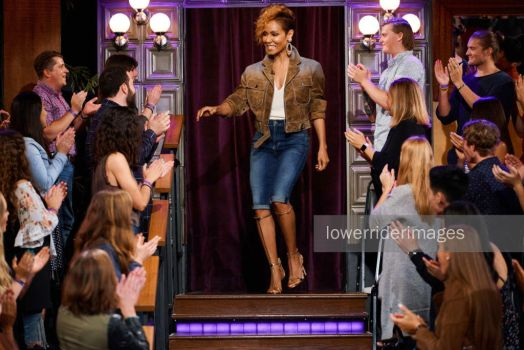 Jada Pinkett Smith on talk show by lowerrider