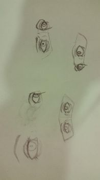 Eye Practice (2) by GalaxyCalotype