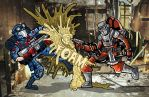 Cobra Viper vs. Barbecue by ehudsbloodysword