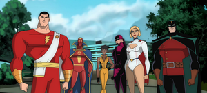 Justice Society of America (fan series) by MidnightOwl07