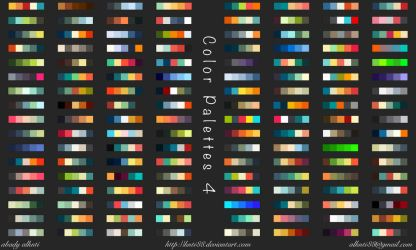 Color Palettes 4 by knti88