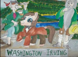 My little Pony writers Washington Irving by merrittwilson
