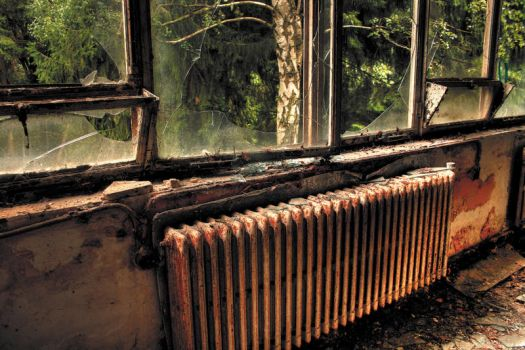 Urbex : The Radiator by exkub
