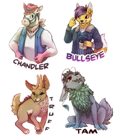 Badges 4 My Pals by Arkay9