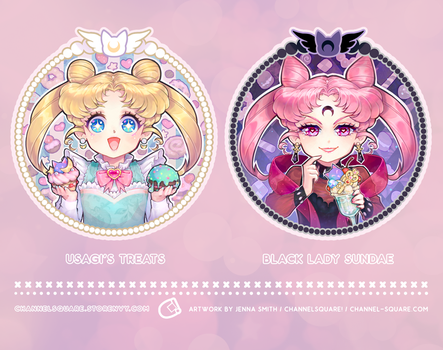 Sailor Moon Sweeties by Channel-Square