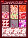 Valentine's Day  PATTERNS Pack 1 by Laurent-Dubus