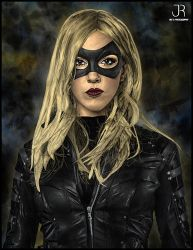 Black Canary by SpideyVille