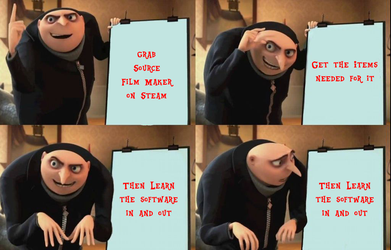 Despicable meme - Source Film Maker by TheFerbguy