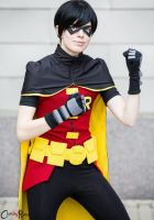 Young Justice: Robin by Malindachan