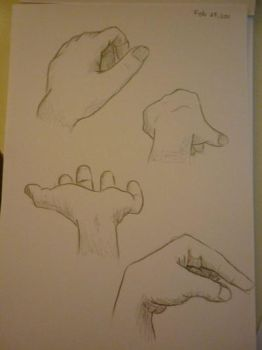hand - study by learning111