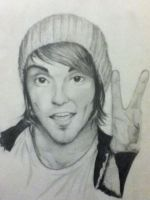 Alex Gaskarth by Zakelle