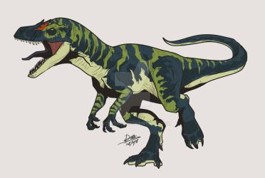 Juvenile Allosaur (Fallen Kingdom) by Michiragi