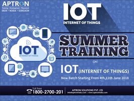 IOT Training in Delhi by devaryaaa