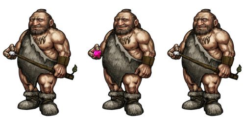 Cave Man by Hungrysparrow