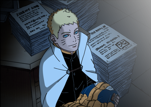 Boruto 4 - Reminiscence by theothersophie