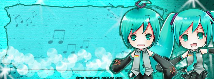 [FB COVER] Vocaloid: Hatsune Miku and Mikuo by angelica-micah