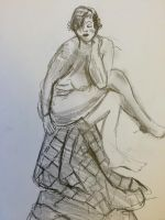 Life drawing 7 by heybeliever