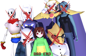 -THE  BAD  END by Celtonyx