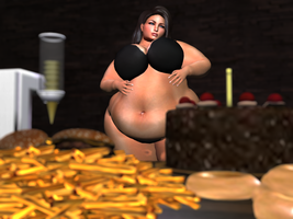 Second Life - The Feast 1 by RubiWanJinn