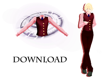 [Male Waistcoat+Shirt] Free Download by Metra-Philia