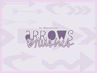 Arrows brushes by xblaackparadex