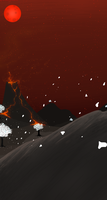 Bring Forth the Fire Background by mute-owl