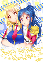 Happy Birthday, Mari! by John-Hayabusa