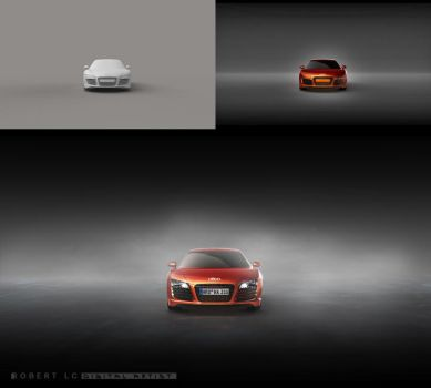 Audi r8 wallpaper (+download) by Ispaniola
