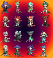 FREE ADOPTABLES BATCH 0/16 [CLOSED] by shop-adoptables