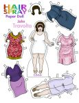 Edna Turnblad Paper Doll by Cor104