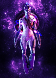 Nova - Warframe by K4VE