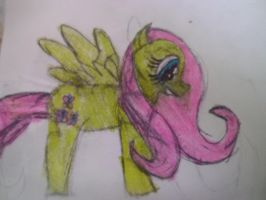 My Little Pony: Friendship Is Magic: Fluttershy by IrohSpinyfan