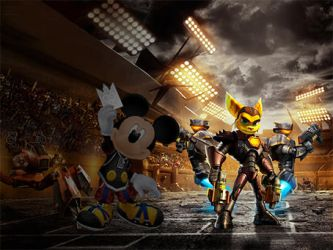 King Mickey in Ratchet and Clank by ratchetsly2324