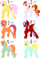 Mlp adopt sheet (1/6 open) by CheshireGrinAdopts