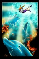 Dolphin Dream by Hesstoons