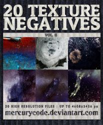 Texture Pack 10: Negatives Vol. II by mercurycode
