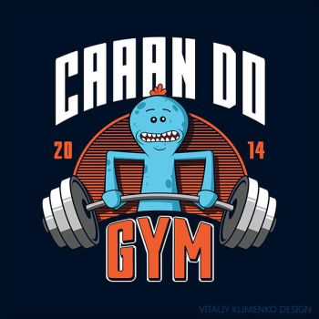Can Do Gym ( Mr. Meeseeks ) by Vitaliy-Klimenko