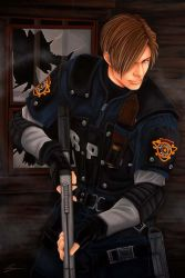 Resident Evil 4: Leon by starxade