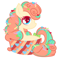 Pony in a Cupcake by AlexKingOfTheDamned