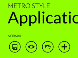 Metro Style UI Application Icons Collection by tank6b