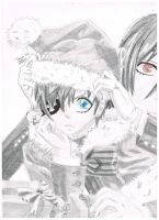 A Black Butler Christmas by Blue-eyed-girl-23