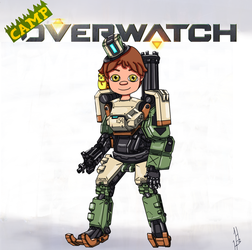 Camp Overwatch: Harrison by DragonWorlock