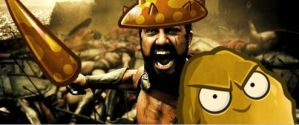 The real personification of Sparta by Quifang